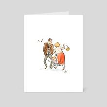 The Brat - Art Card by Qin Leng