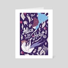 Alice By Heart Musical - Art Card by Ariel Hsu