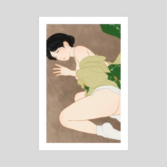 Women in hot spring steam 34 by Sai Tamiya