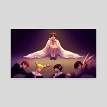 Lonely Angel - Canvas by anyare