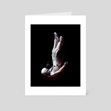 Lost Astronaut  - Art Card by Suvam
