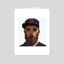 PixelMe - Art Card by giorgio baroni