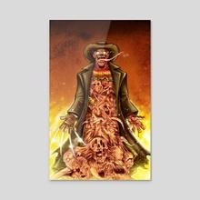 Freddy's Children  - Acrylic by Marcus 'MAS' Smith