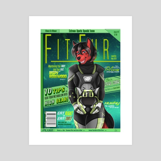 Fit Fur Magazine #11 - Inspy Rosewood by Banana Man