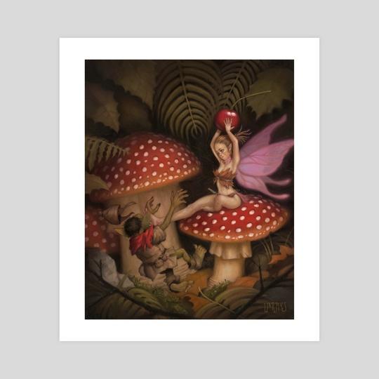 Mushroom Fairy by Mario Vazquez