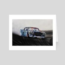 Hoonicorn Drift Car II - Art Card by J.Bello Studio
