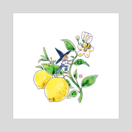 Tiny Lemon Witch by Ranran