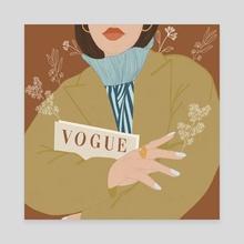 Fashion vibes - Canvas by shailja