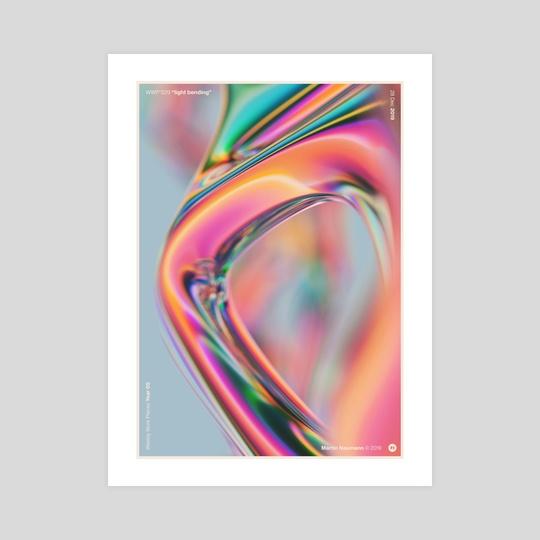 """WWP 229 """"light bending"""" by Martin Naumann"""