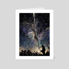 Night Sky. - Art Card by dea angelica koewandhono