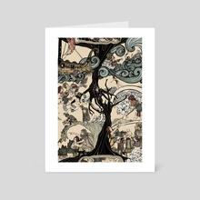 Story of Deirdre - Art Card by Megan Russell