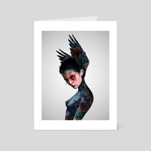 Hybrid Creature - Art Card by Laura H. Rubin