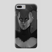 Gentle eyes - Phone Case by Dominique Gilis