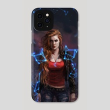 Hologram Armor - Phone Case by Ken McCuen