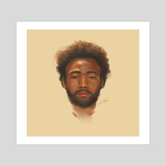 Donald Glover / Childish Gambino by Diana Pinto