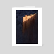 Cliff House - Art Card by Anita Tung
