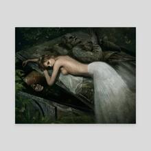The Highgate Vampire - Canvas by Joe Roberts