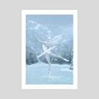 Snow Dancer - Art Print by Tanya Varga