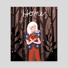 Home - Canvas by Dian Pu