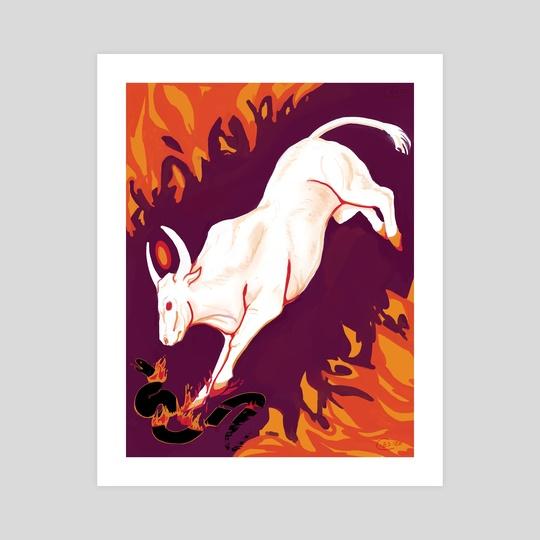 Montu the Bull by C S