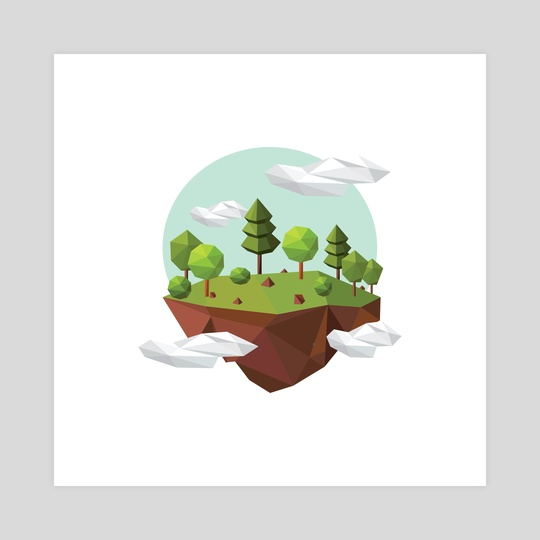 Floating Nature by Vectoria :  visually vectorized