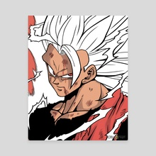 Super Saiyan 3 Goku [LMC] - Canvas by CELL-MAN