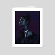 Mika - Art Card by Stu Chapman