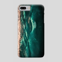 Tidal Wave - Phone Case by Diogo Pereira