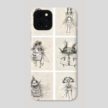 Fairies Set 1 - Phone Case by Tom Bonson