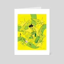 Hunter x Hunter - Gon Freeccs - Art Card by Caezar Malixi