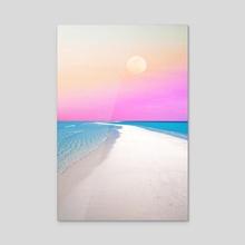 Ocean & Moon II - Acrylic by 83 Oranges