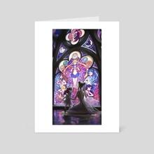 Serenity - Art Card by Anna Steinbauer