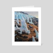 Plucker among the Penitente - Art Card by Jordan K Walker
