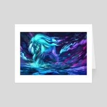 Aurora Lion - Art Card by Aurora Lion