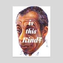 Avuncular Wisdom (James Baldwin) - Canvas by Karl Frey