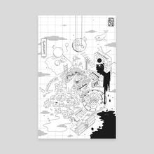 Solo Tiny World - Canvas by Buju