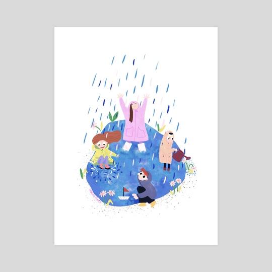 Rainy day by Monica Meius