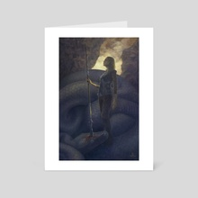 Song for the Basilisk - Art Card by Jenna Kass