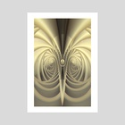 Lucky7 - Art Print by Lidia Liligeometry