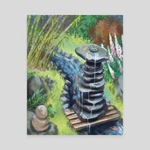 Zen - Canvas by Ashley.art