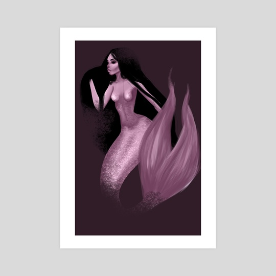 Mermaid by Rosário Martins