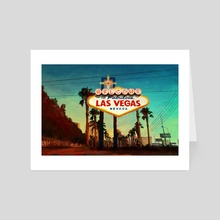 Las Vegas - Art Card by Filip Frandsen