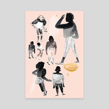 Search for Gold - Canvas by Gracey Zhang