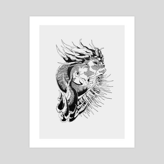 Dragon by Anne Seelmann