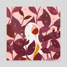 Fresh air - Canvas by Dian Pu
