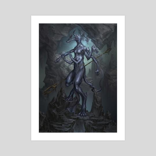 Cave Demon by Daniel Mitchell