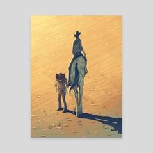 Surprise Ending - Canvas by Michael Marsicano