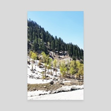 Kashmir II - Canvas by 83 Oranges