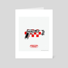 Finalist in the race - Art Card by nukview
