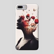 Burning Desire - Phone Case by Enkel Dika